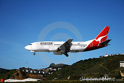 Qantas Airlines Editorial Stock Photo