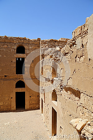 Free Qasr Kharana (Kharanah Or Harrana), The Desert Castle In Eastern Jordan (100 Km Of Amman). Royalty Free Stock Photos - 50439898