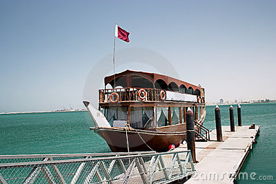 Qatari pleasure dhow