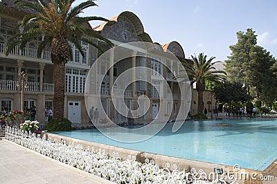 Qavam House in Eram Garden.Shiraz, Iran