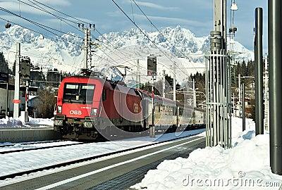 Public transportation in Austria Editorial Photography
