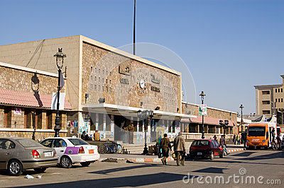 Qena Railway Station, Egypt Editorial Image
