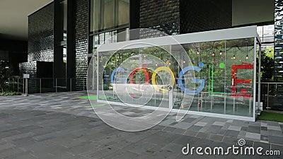 QG de Singapour Google clips vidéos