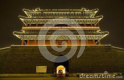 Qianmen Zhengyang Gate Tiananmen Beijing