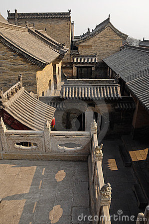 Qing dynasty house Pingyao Xian China