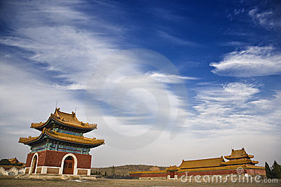 The qing east tombs