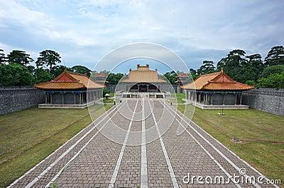 Qing Fu Tomb