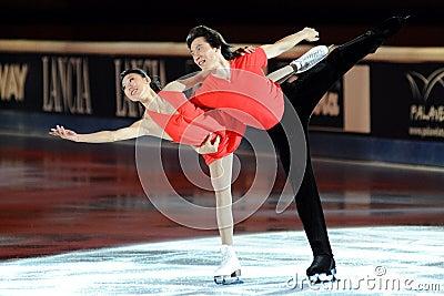 Qing Pang & Jian Tong at 2011 Golden Skate Award Editorial Photo