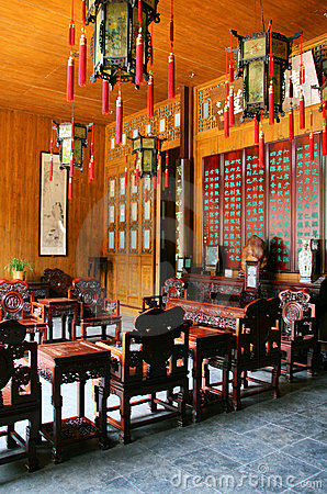 Qing-style living room
