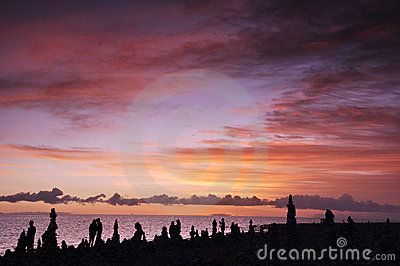 Qinghai Lake at Sunrise