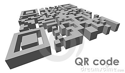 QR code Editorial Stock Photo