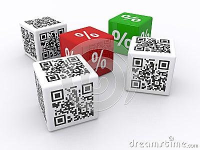 QR codes and percents
