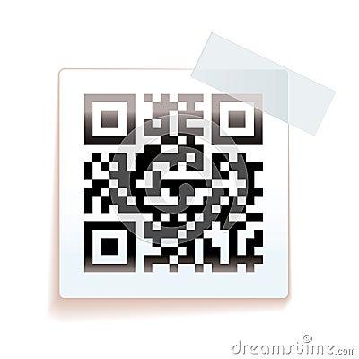 QR paper tag