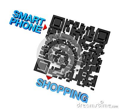 QRcode Smart Phone Shopping