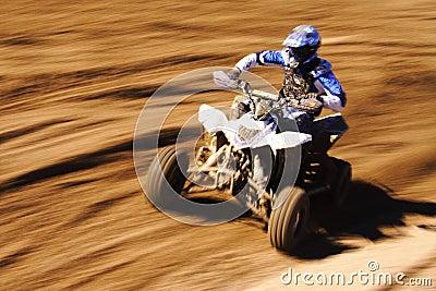 Quad blue speed