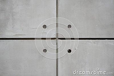 Quad Concrete Wall