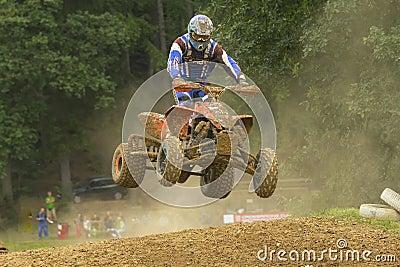 Quad jump Editorial Image