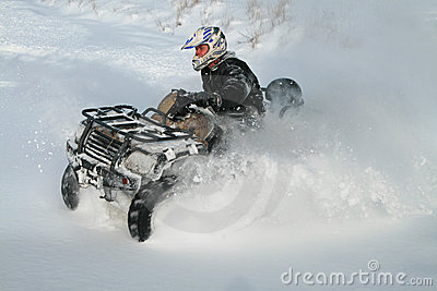 Quad motorcycle
