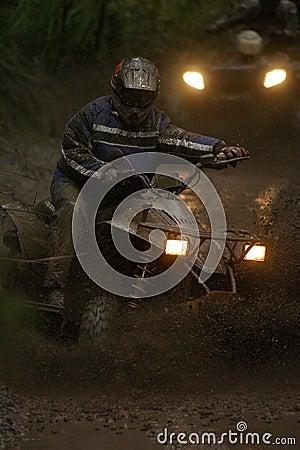 Quad mud 01