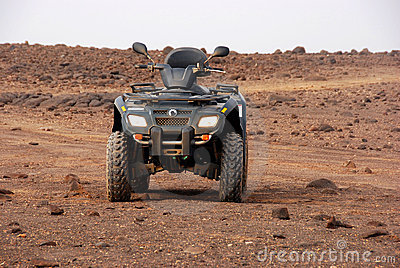 Quad next to Santa Maria, Sal Island - Cape Verde