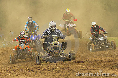 Quad racers Editorial Photography