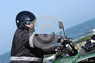 Quad rider (ATV)