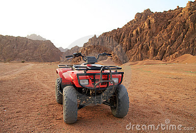 Quad trip in Sinai mountains