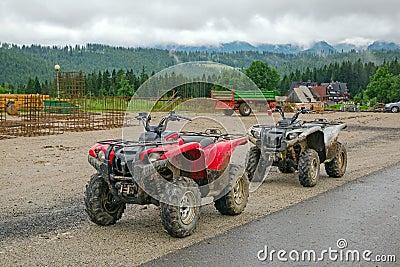 Quad trip in Tatra mountains near Zakopane
