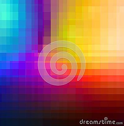 Quadrados da cor