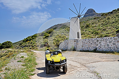 Quadrocycle and windmill