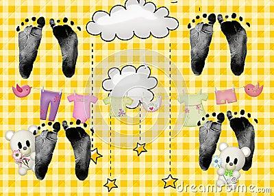 Quadruplet Footprints