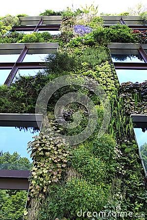 Quai Branly museum, Paris, France Editorial Photography