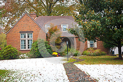 Quaint Brick Ranch-Style Home