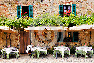 Quaint Cafe Royalty Free Stock Image Image 32072166