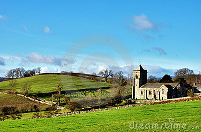 Quaint English Rural Church