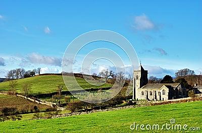 Quaint English Rural Church