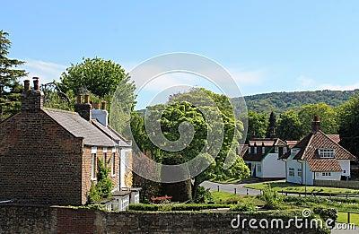 Quaint English village