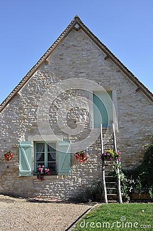 Quaint French house