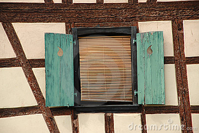 Quaint French window