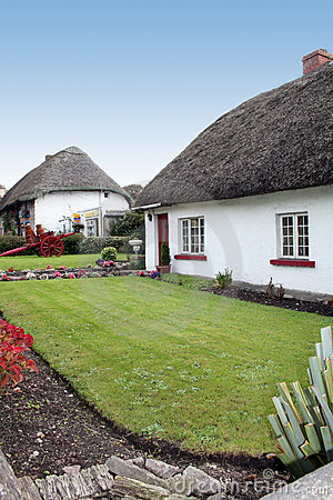 Quaint Irish cottages
