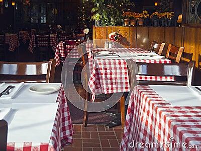 Quaint Italian restaurant