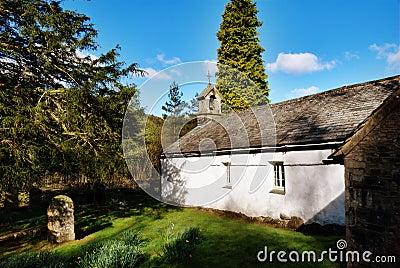 Quaint rural stone church Wythburn, Cumbria