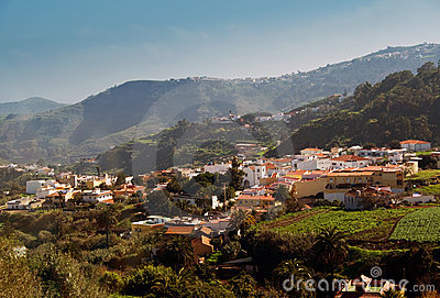 Quaint village on Gran Canaria