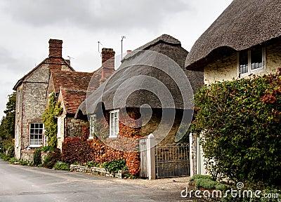 Quaint Village Street