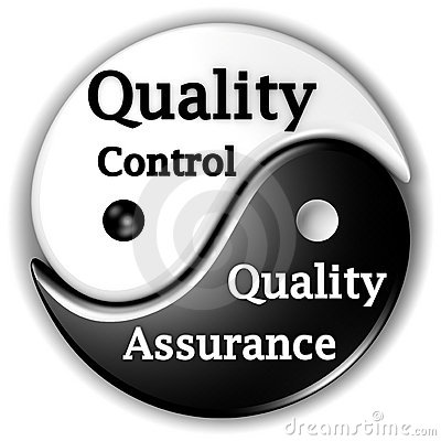 Free Quality Assurance And Quality Control Ying-Yang Royalty Free Stock Images - 18925539