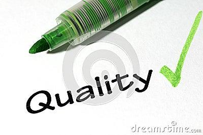 Quality form