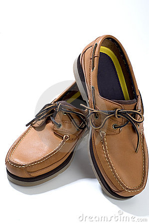 Free Quality Leather Casual Shoes Mens Royalty Free Stock Photos - 1355128