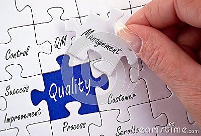 Quality management puzzle