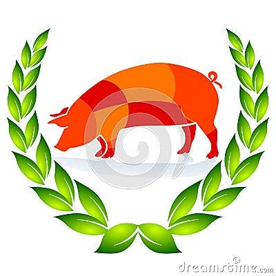 Quality Pig Sign