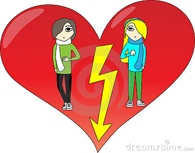 Quarrel Royalty Free Stock Image - Image: 7544786